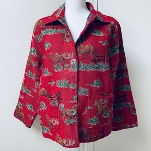 Jane Ashley Horse Jacket